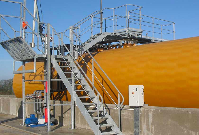 Depot petrolier